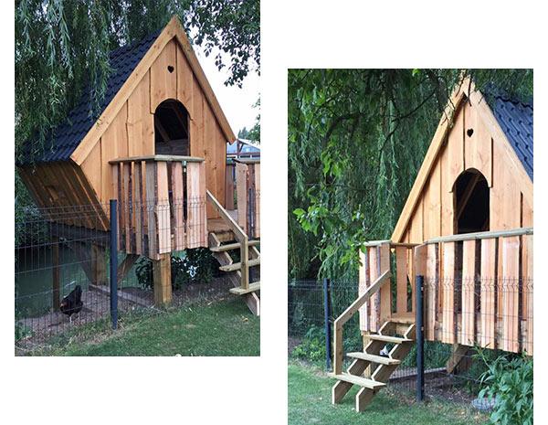 cabane en bois bâtit par JMBOIS