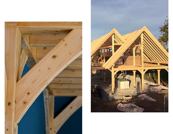 maison ossature bois construire par JMBOIS
